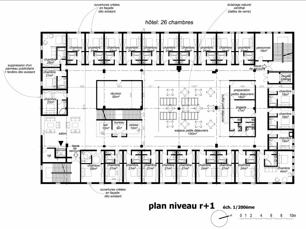 D co plan architecte chambre hotel 92 vitry sur seine for Plan architecte logiciel
